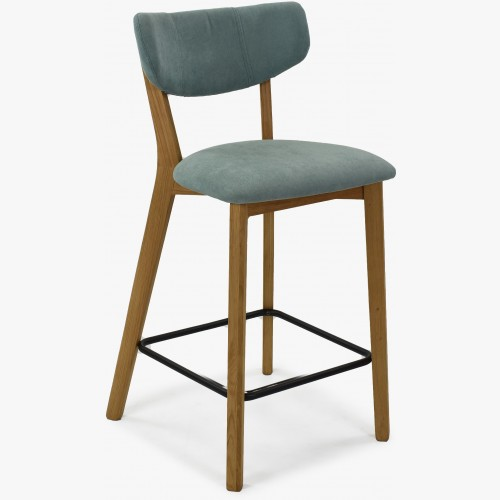 Barová židle,Amisa světle zelená