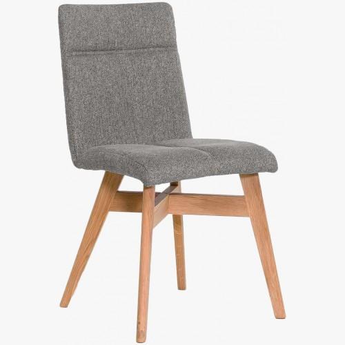 Jídelní židle skandinávský styl, světle šedá Alina