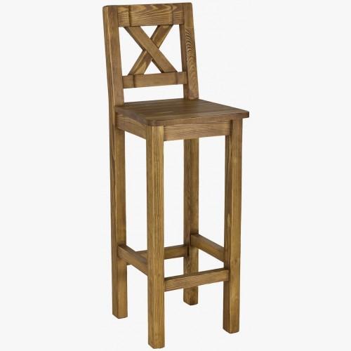 Barová židle - rustikální