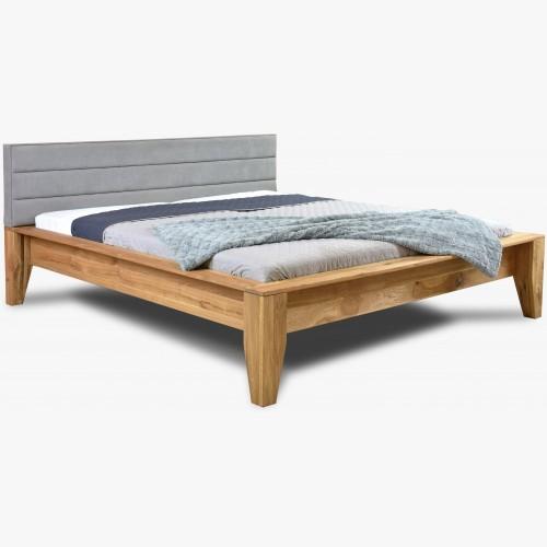 Dubová postel masiv - čelo...