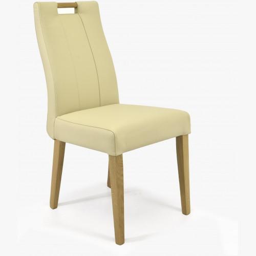 Dubová židle kožená, Jana...