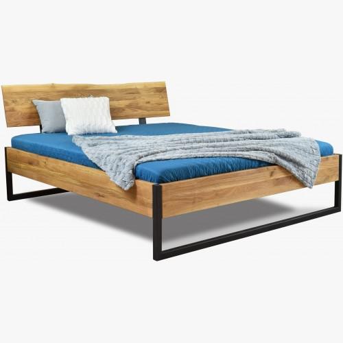 Manželská postel masiv dub...