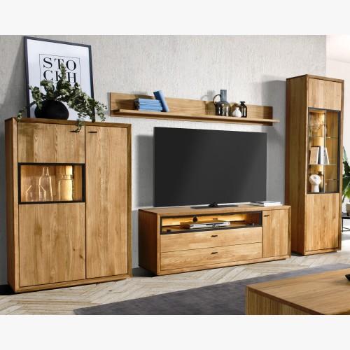 Moderní obývací stěna dub s...