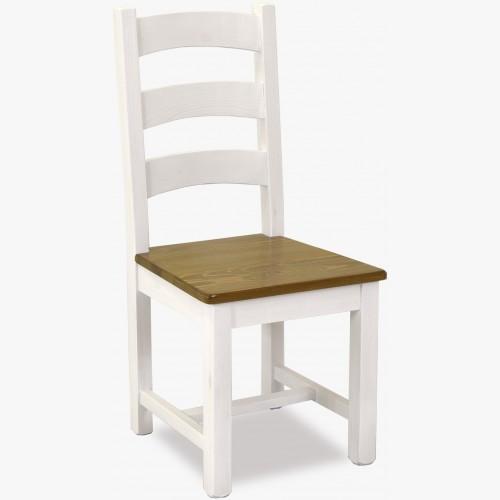 Dřevěná židle v provence...