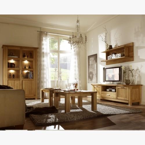 Obývací stěna z dubového...
