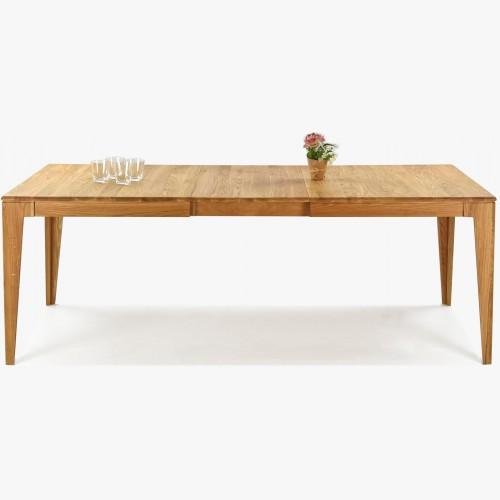 Rozkládací stůl z masivu dub až pro 10 lidí, Avignox