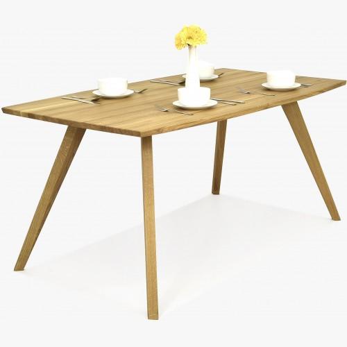 Jídelní stůl z dubu - oválny, Golem