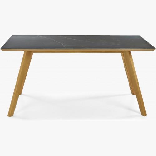 Jídelní stůl Dekton, tmavá deska
