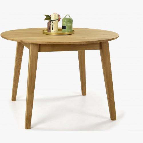 Kulatý jídelní stůl masiv dub, Janov