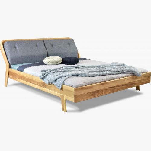Luxusní dubová postel na nožičkách Milenium
