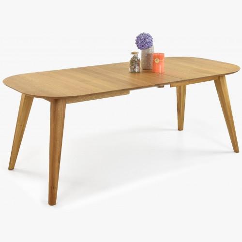 Rozkládací stůl oválný,...