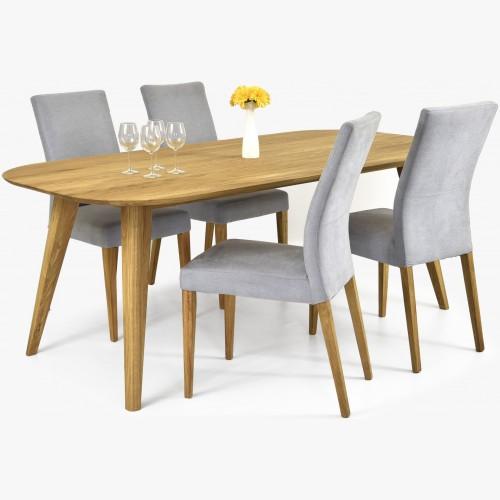 Dubový stůl otawa a židle...