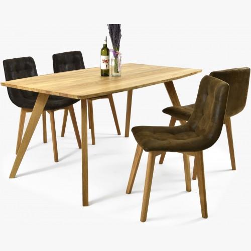 Masivní dubový stůl golem a...